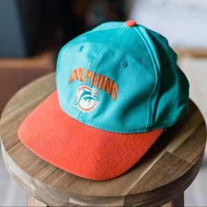 Miami Dolphins Football Team Snapback Cap Hat!